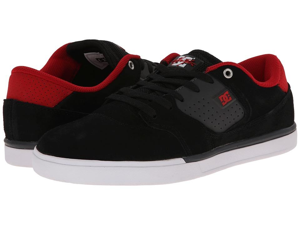 DC - Cole Lite (Black/Grey) Men's Skate Shoes