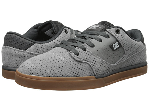 DC - Cole Lite (Grey) Men's Skate Shoes