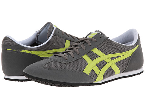 Onitsuka Tiger by Asics - Machu Racer (Grey/Lime) Shoes