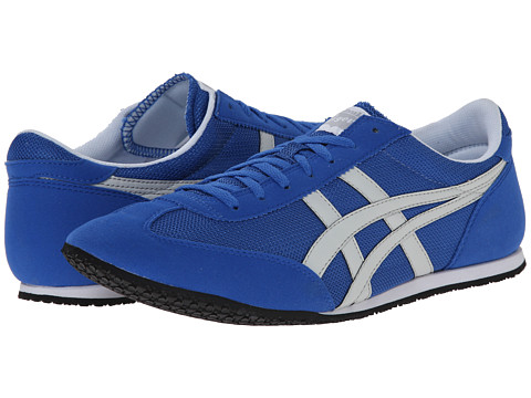 Onitsuka Tiger by Asics - Machu Racer (Strong Blue/Soft Grey) Shoes
