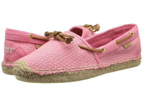 Sperry Top-Sider - Katama Open Cotton Mesh (Coral) Women