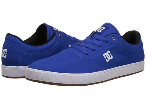 DC - Crisis TX (Blue) Men's Skate Shoes