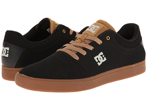 DC - Crisis (Brown/Black) Men's Skate Shoes
