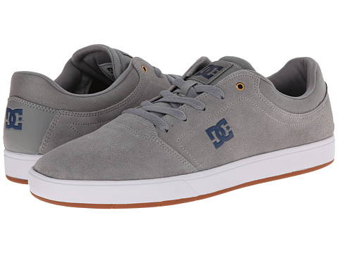 DC - Crisis (Grey) Men's Skate Shoes