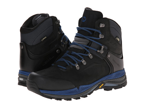 Merrell - Crestbound GORE-TEX (Black/Blue) Men's Hiking Boots