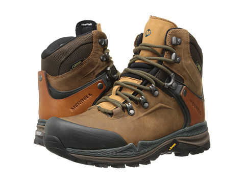 Merrell - Crestbound GORE-TEX (Dorado/Forest Green) Men
