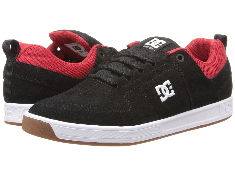 DC - Lynx (Black/Red/White) Men's Shoes