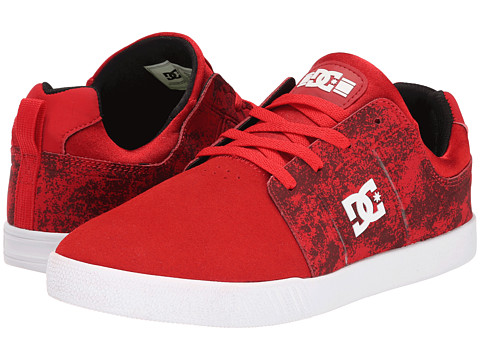 DC - RD Jag (Red/Black) Men's Skate Shoes