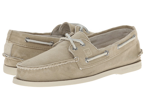 Sperry Top-Sider - A/O 2-Eye SW Canvas (Chino) Men's Lace up casual Shoes