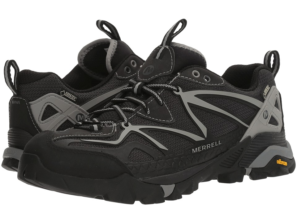 Merrell - Capra Sport GORE-TEX (Black/Wild Dove) Men's Lace up casual Shoes