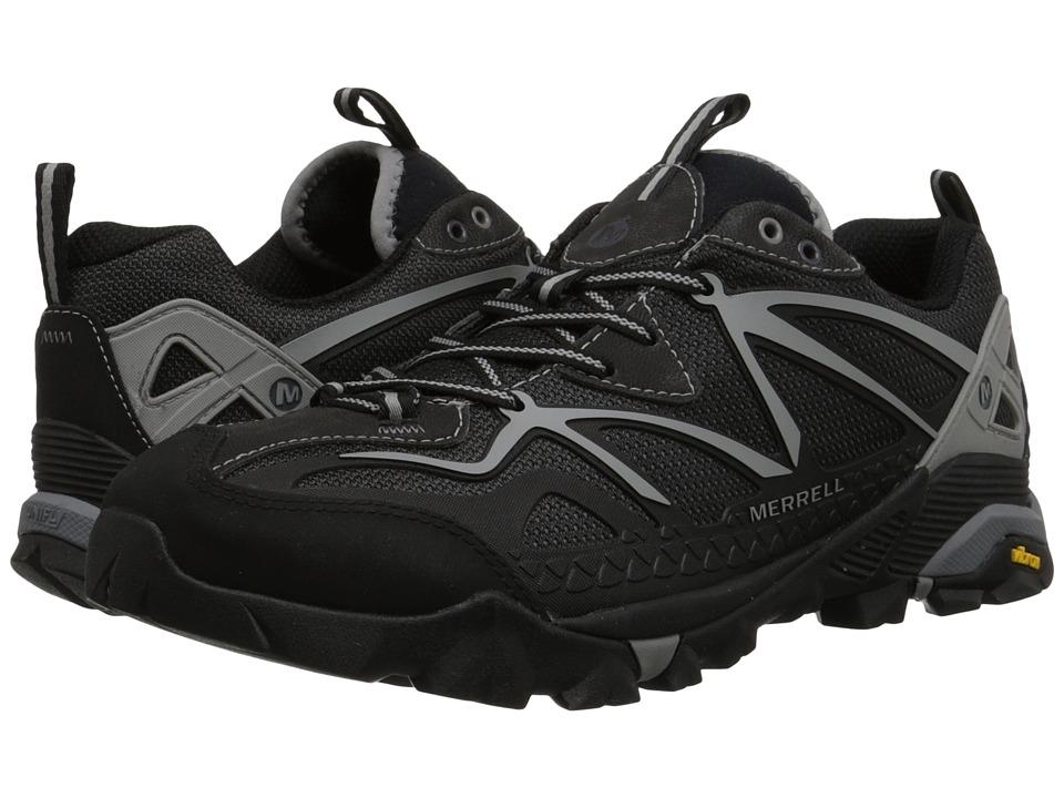 Merrell - Capra Sport (Black/Wild Dove) Men's Lace up casual Shoes