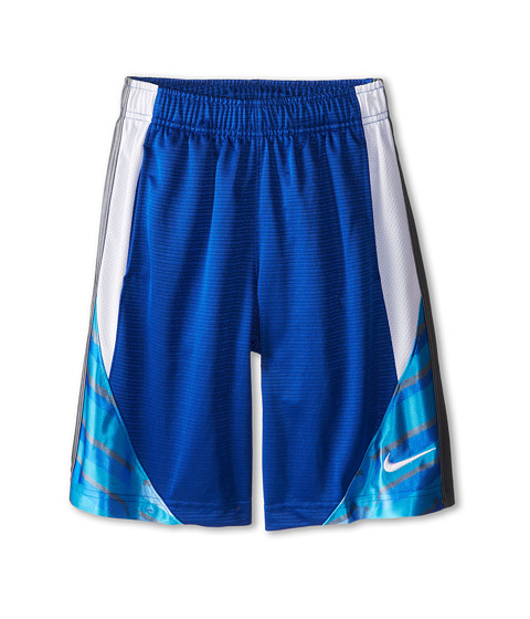 Nike Kids - Avalanche GFX 2.0 Short (Little Kids/Big Kids) (Game Royal/White/Cool Grey/White) Boy
