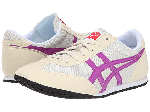 Onitsuka Tiger by Asics - Machu Racer (Off-White/Hyacinth Violet) Women's Shoes