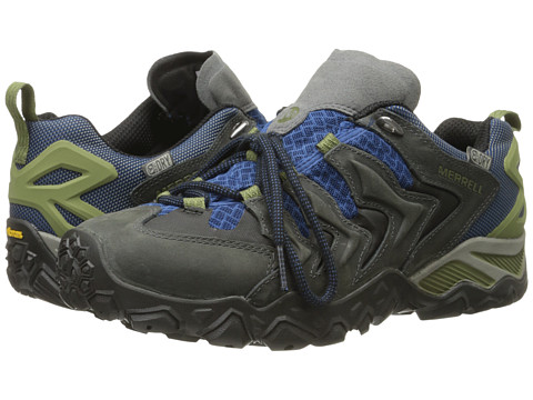 Merrell - Chameleon Shift Ventilator Waterproof (Castle Rock/Tahoe Blue) Men