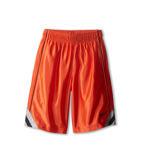 Nike Kids - Dunk Short V2 (Little Kids/Big Kids) (Team Orange/Wolf Grey/Black/Black) Boy