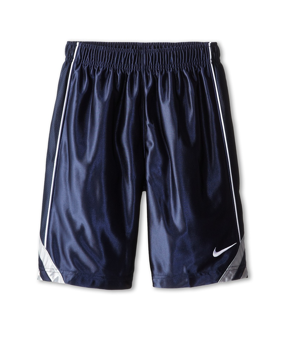 Nike Kids - Dunk Short V2 (Little Kids/Big Kids) (Obsidian/Wolf Grey/Obsidian/White) Boy