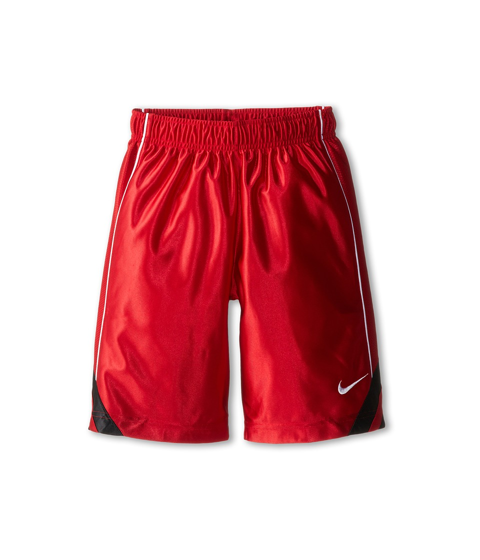 Nike Kids - Dunk Short V2 (Little Kids/Big Kids) (Gym Red/Black/Gym Red/White) Boy