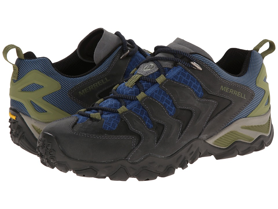 Merrell - Chameleon Shift Ventilator (Castle Rock/Tahoe Blue) Men's Lace up casual Shoes