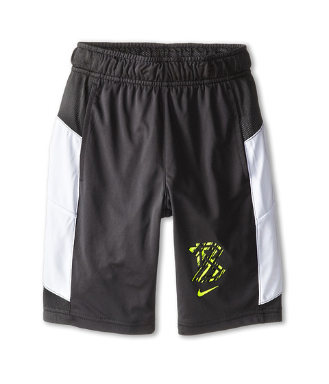 Nike Kids - Field Sport Short (Little Kids/Big Kids) (Anthracite/White/Volt) Boy's Shorts