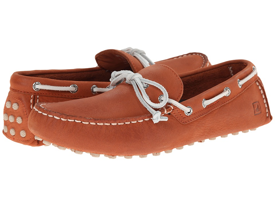 Sperry Top-Sider - Hamilton Driver 1-Eye (Orange) Men's Slip on Shoes