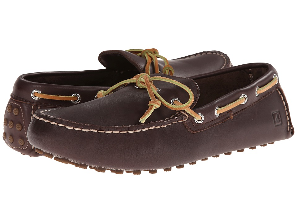 Sperry - Hamilton Driver 1-Eye (Brown) Men's Slip on Shoes