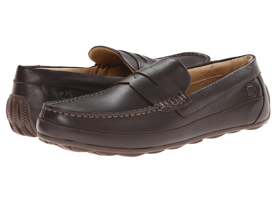 Sperry Top-Sider Hampden Penny (Dark Brown) Men