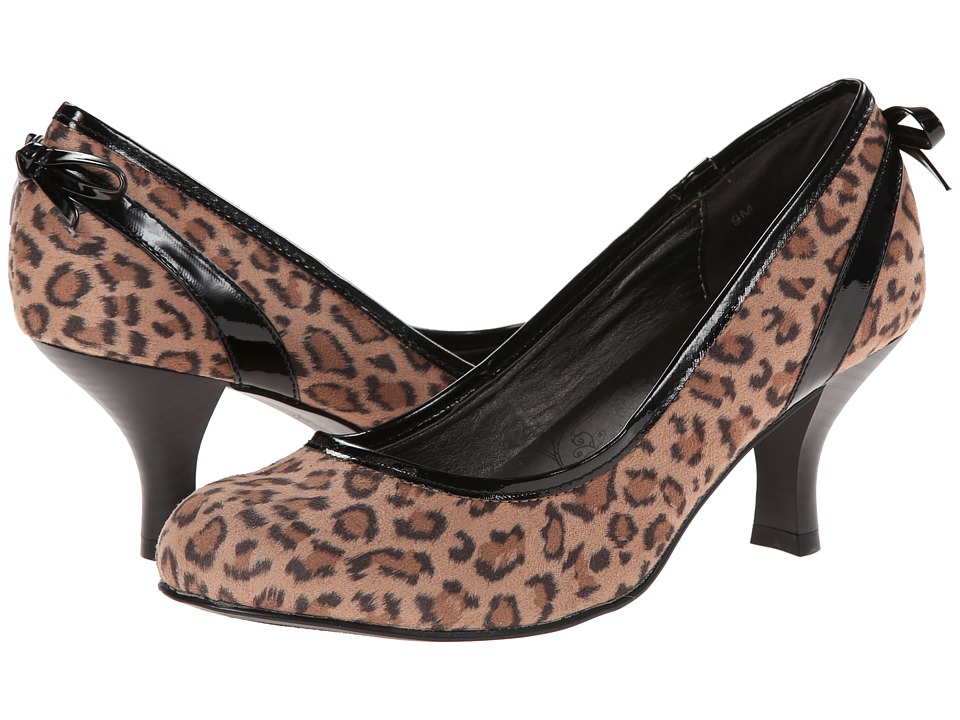 Jellypop - Nelson (Leopard) Women's Shoes