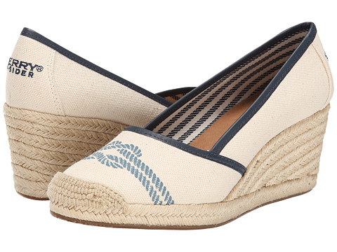 Sperry Top-Sider - York Nautical Not (Ivory/Navy) Women