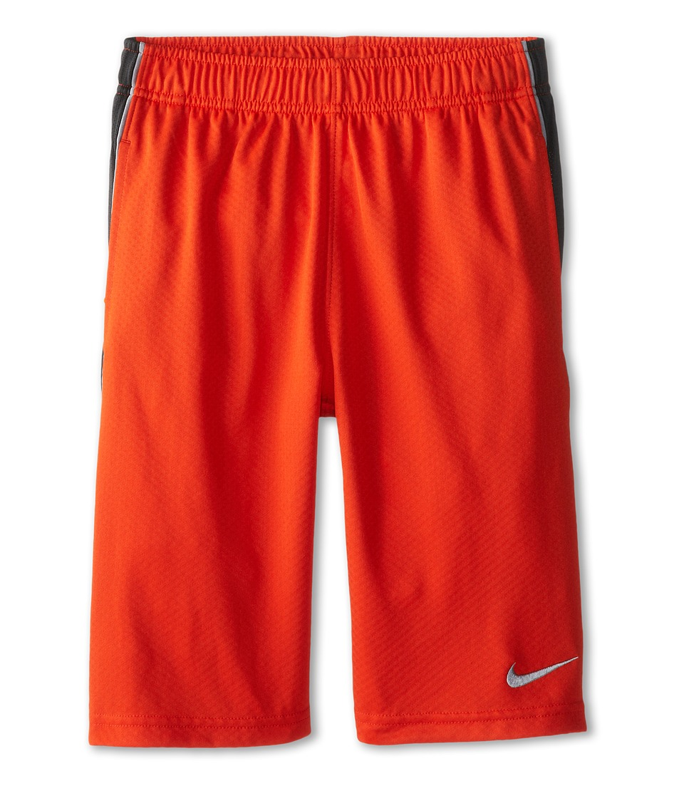 Nike Kids - Aceler8 Short (Little Kids/Big Kids) (Team Orange/Anthracite/Wolf Grey) Boy's Shorts