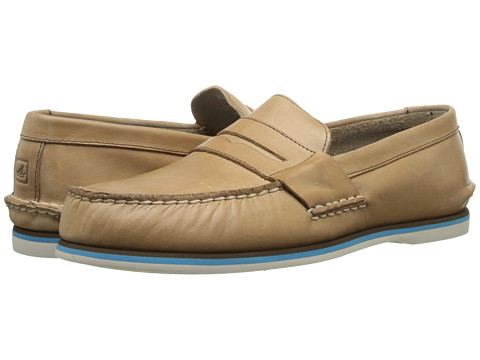 Sperry Top-Sider - SS Loafer Penny (Dark Tan) Men's Slip on Shoes