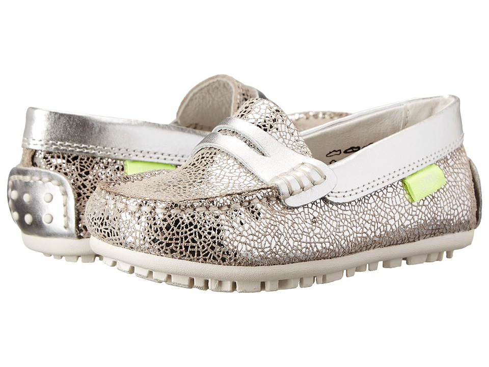 Umi Kids - Morie N (Toddler/Little Kid) (Silver) Girls Shoes