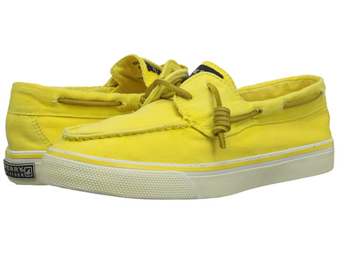 Sperry Top-Sider - Bahama 2-Eye Washed (Yellow) Women's Lace up casual Shoes