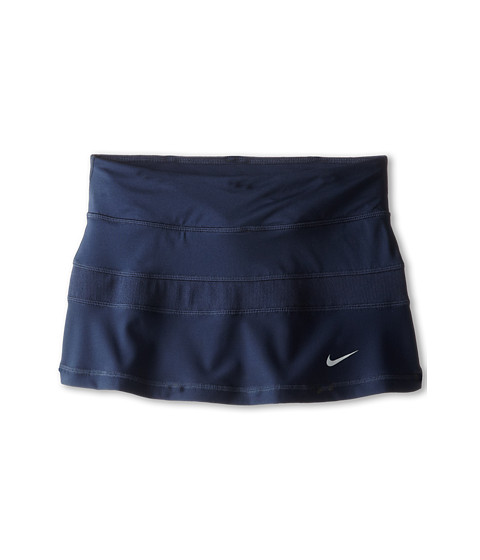 Nike Kids - Victory Power Skirt (Little Kid/Big Kid) (Obsidian/Obsidian/Matte Silver) Girl's Skirt