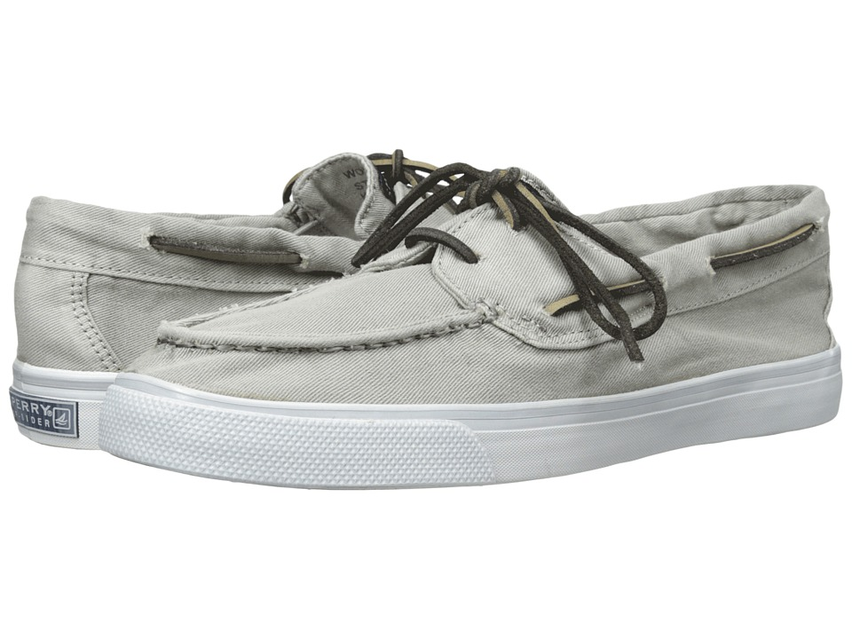 Sperry - Bahama 2-Eye Washed (Grey) Women's Lace up casual Shoes