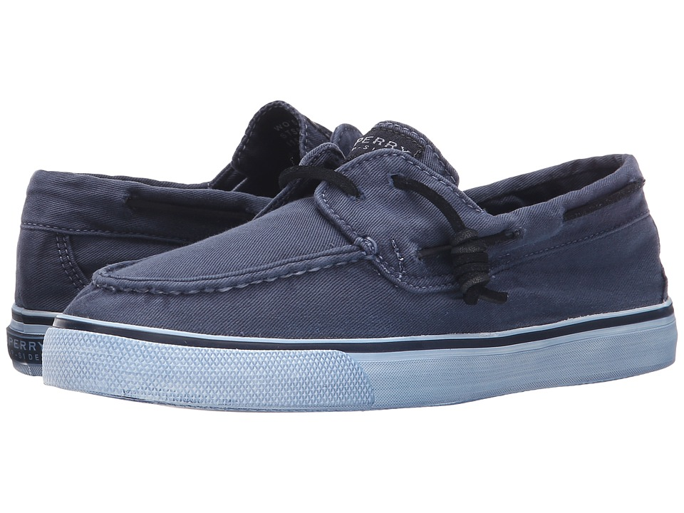 Sperry Top-Sider - Bahama 2-Eye Washed (Navy) Women's Lace up casual Shoes