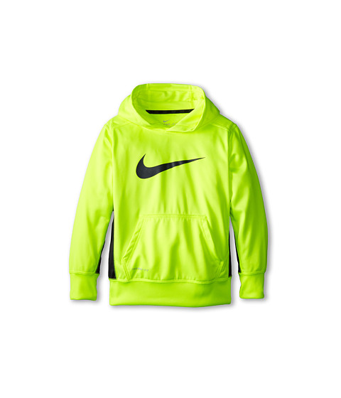 Nike Kids - KO 2.0 Hoody (Little Kids/Big Kids) (Volt/Anthracite/Volt/Anthracite) Boy's Sweatshirt