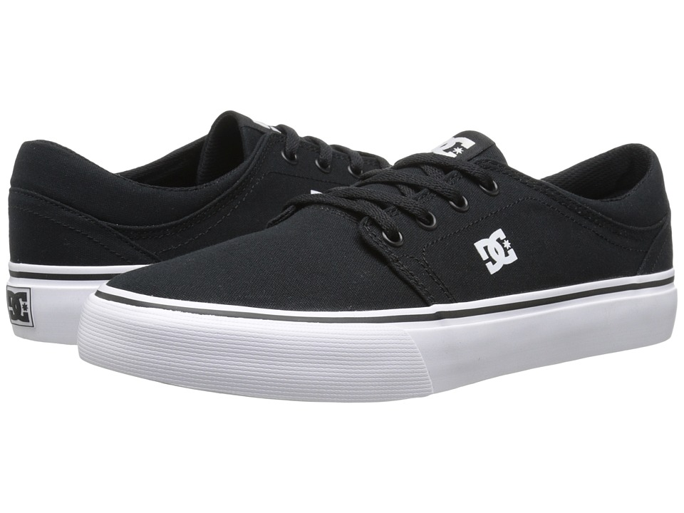 DC - Trase TX (Black/White) Skate Shoes