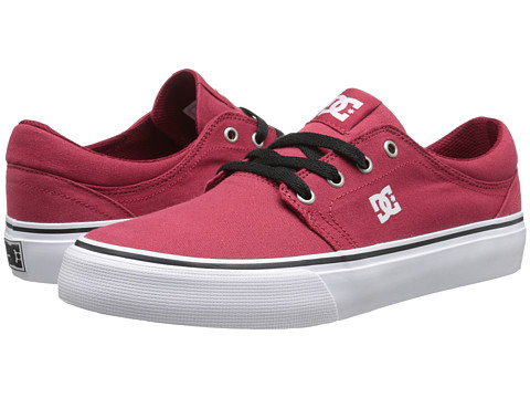 DC - Trase TX (Dark Red) Skate Shoes