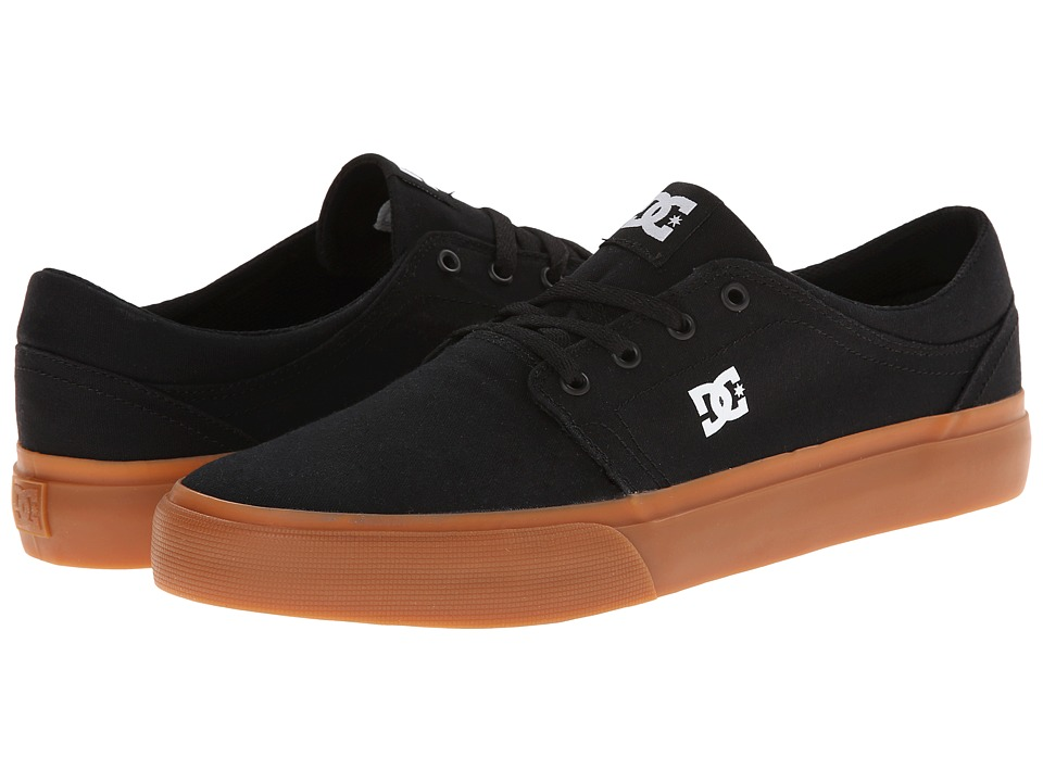 DC - Trase TX (Black/Gum) Skate Shoes