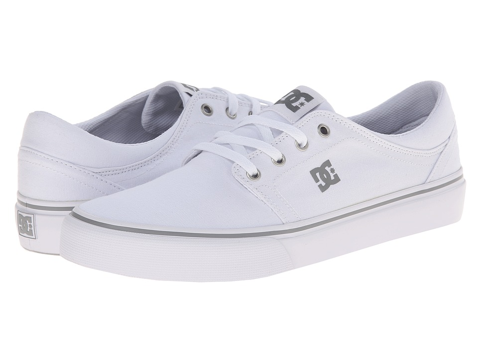 DC - Trase TX (White) Skate Shoes