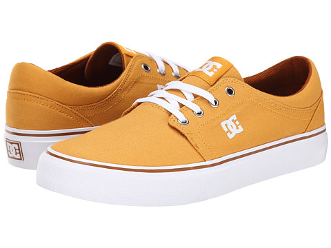 DC - Trase TX (Yellow) Skate Shoes