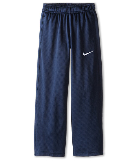 Nike Kids - Essentials Training Pant (Little Kids/Big Kids) (Obsidian/Obsidian/Obsidian/White) Boy's Casual Pants