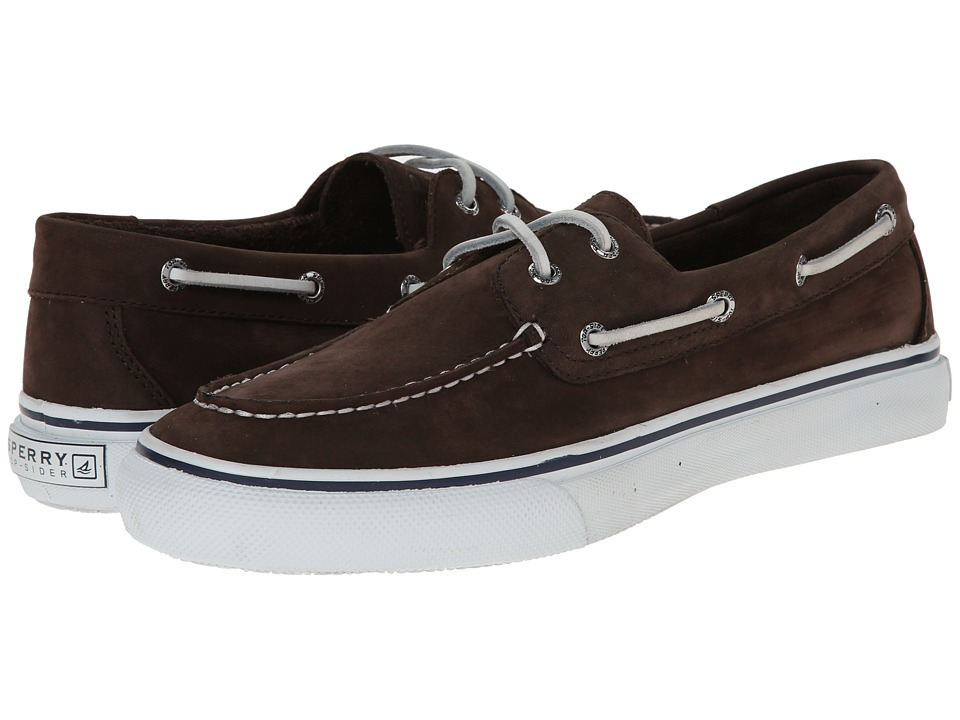 Sperry Top-Sider - Bahama 2-Eye Washable (Chocolate) Men's Lace up casual Shoes