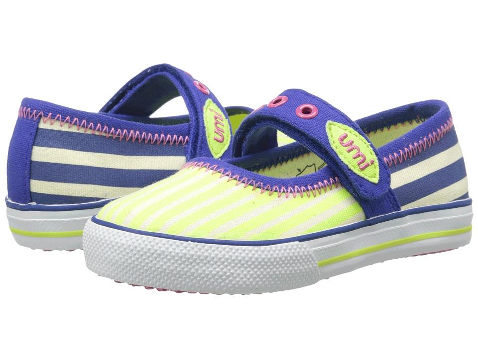 Umi Kids Halina E (Toddler/Little Kid) (Royal Multi) Girls Shoes