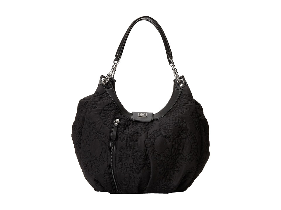 petunia pickle bottom embossed hideaway hobo central park north stop diaper bags dealtrend. Black Bedroom Furniture Sets. Home Design Ideas