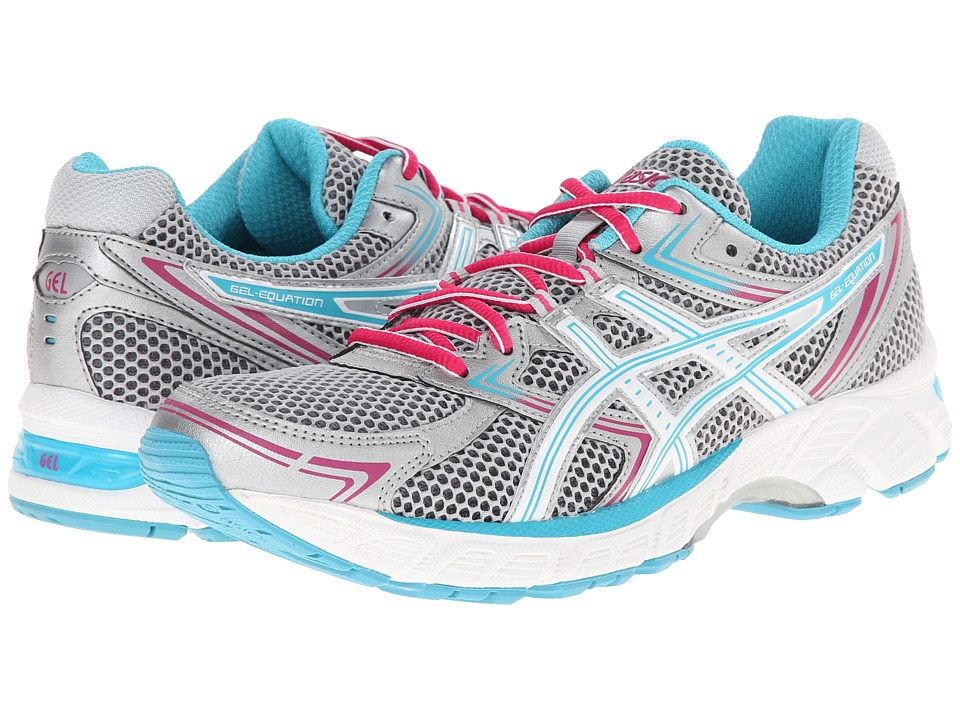 ASICS - GEL-Equation 7 (Lightning/Peacock Blue/Cabernet) Women's Running Shoes
