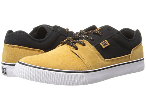 DC - Tonik (Yellow/Black) Men's Skate Shoes