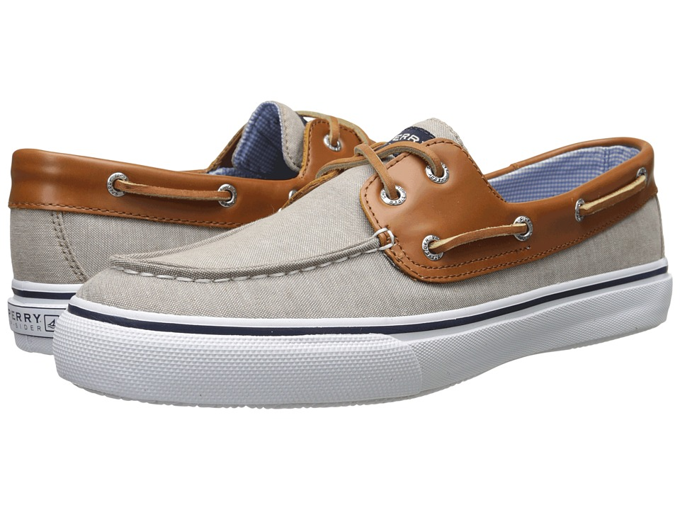 Sperry Top-Sider - Bahama 2-Eye Chambray (Chino) Men's Lace up casual Shoes