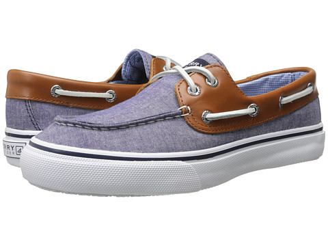 Sperry Top-Sider - Bahama 2-Eye Chambray (Navy) Men