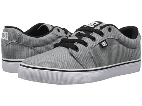 DC - Anvil TX SE (Light Grey 2) Men's Shoes